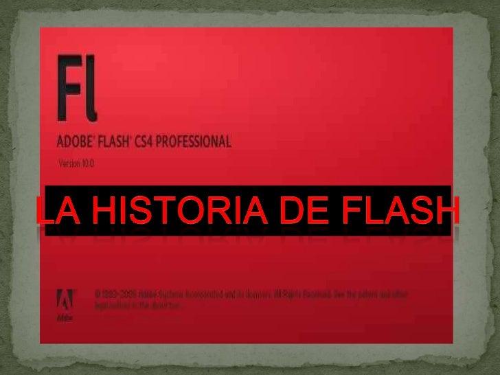 """ Adobe Flash es una aplicación en forma de estudio de animación que trabaja sobre """"fotogramas"""", destinado a la producción..."""