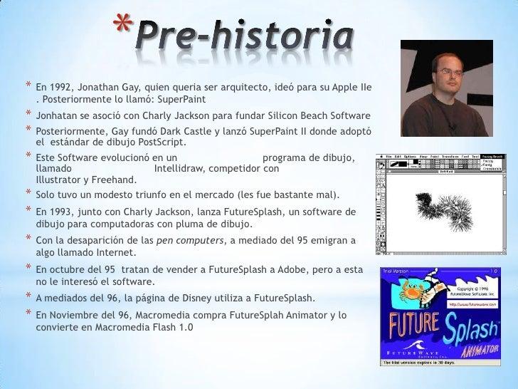 Historia de flash y sus versiones Slide 3