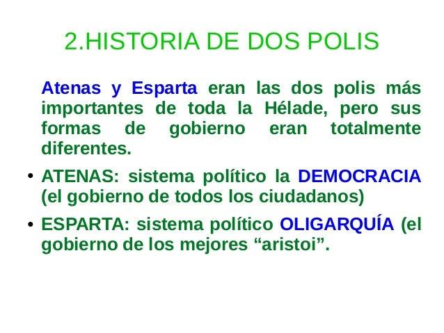 Historia de grecia - Dos mas dos ...