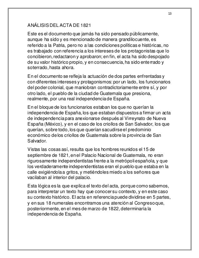 independencia de honduras pdf