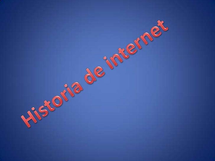 UNA RED DE REDES• INTERNET es una mundial de redes de ordenadores, que  permite a estos comunicarse en forma directo compa...