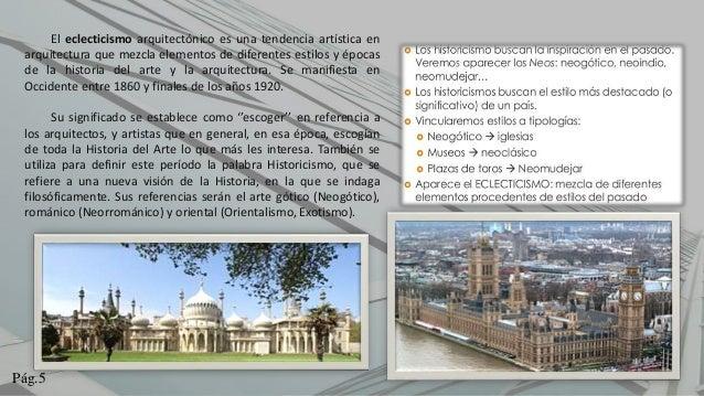 historia del eclecticismo pdf