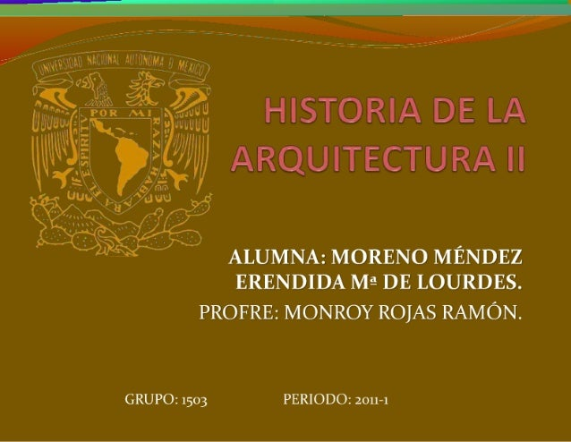 Historia de la Arquitectura 2