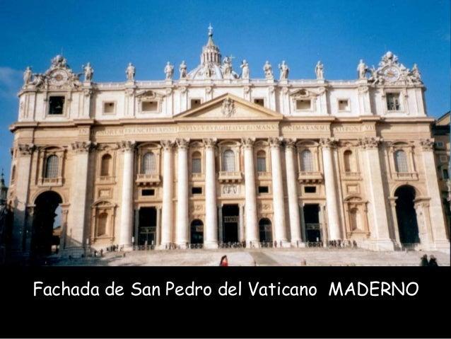 Fachada de San Pedro del Vaticano MADERNO
