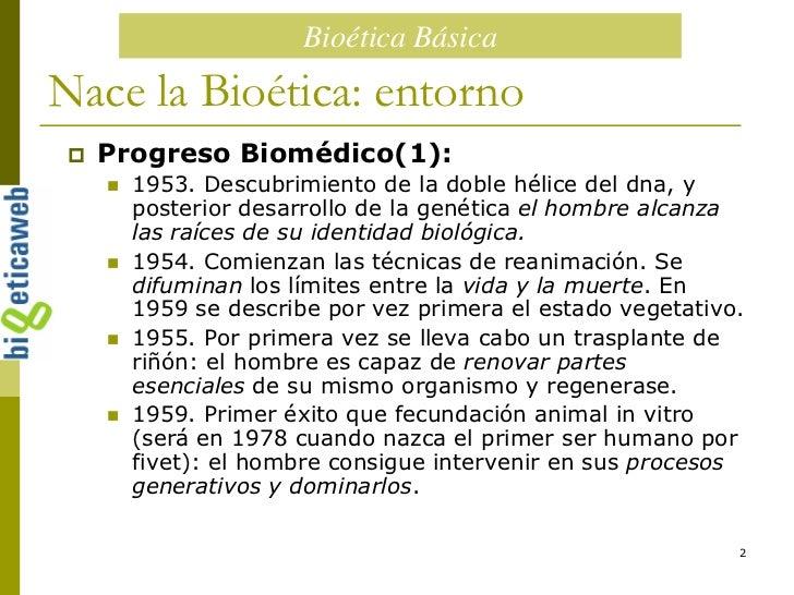 Historia De La Bioetica Slide 2