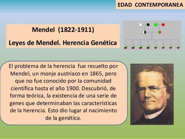 Historia de la biologia for Caracteristicas de los contemporaneos