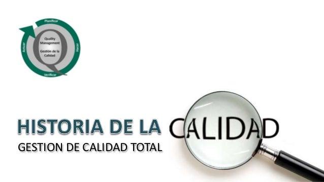 GESTION DE CALIDAD TOTAL