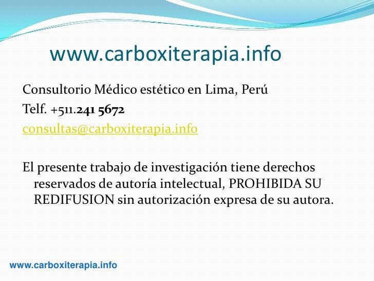 Curso de carboxiterapia