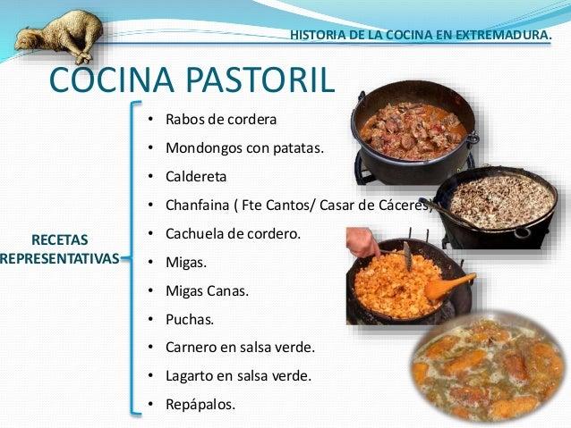 Historia De La Cocina En Extremadura