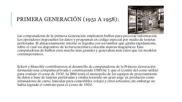 Comenzó entonces a construir computadoras electrónicas y su primera entrada fue con la IBM 701 en 1953. Después de un lent...