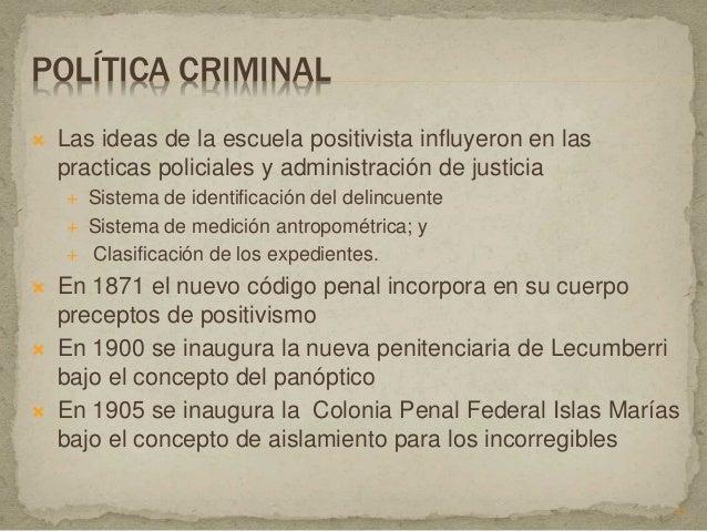Historia de la criminologia 1 for La colonia penitenciaria