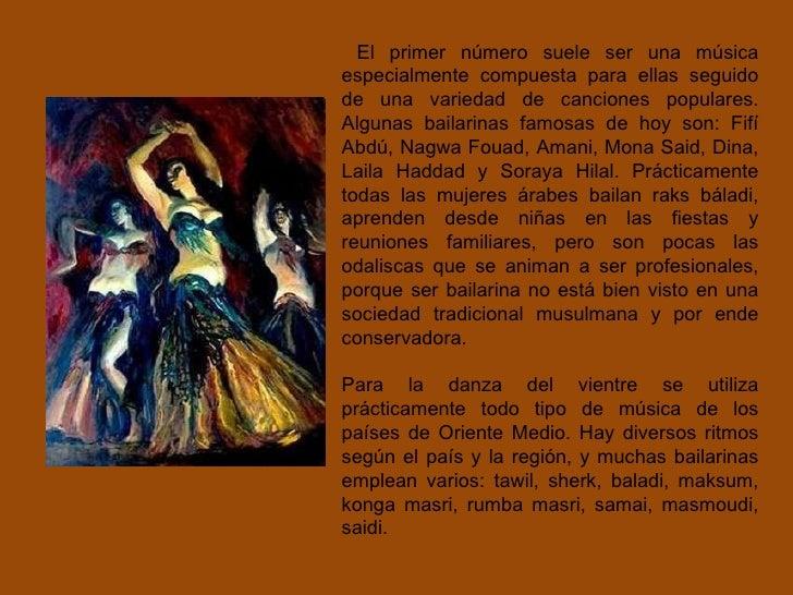 Historia de la danza rabe for Musica orientale famosa