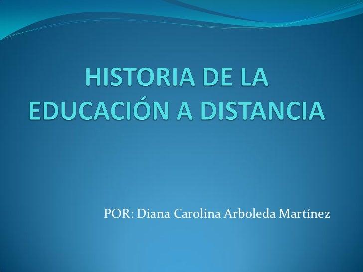 POR: Diana Carolina Arboleda Martínez