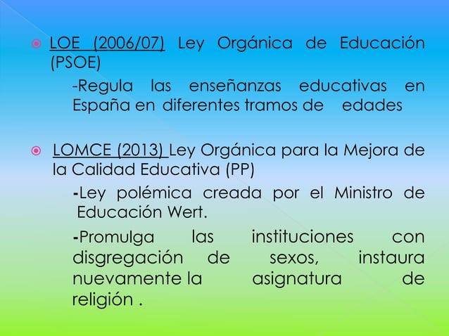 Historia de la educación en españa