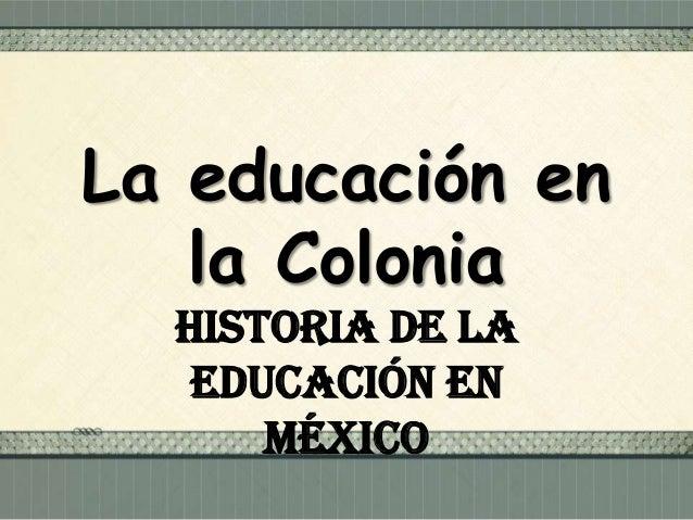 Después de la caída de Tenochtitlan el 13 de agosto de 1521, se inició la dominación española perdurando por casi 300 años...