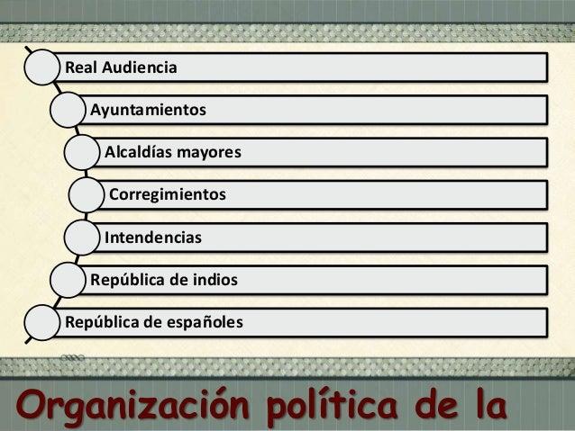 Organización política de la