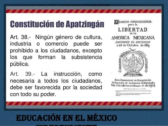México Independendiente La tarea fundamental de toda la etapa independentista fue la constitución y el asentamiento del Es...