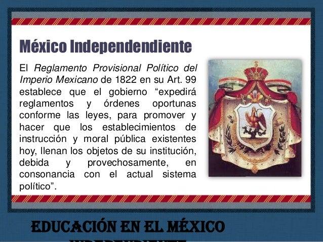 """Lucas Alamán (1792-1853) declaró el 7 de noviembre de 1823 ante el Congreso: """"Sin instrucción no puede haber libertad, y l..."""