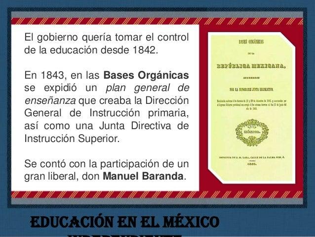 La iniciativa privada de la época también apoyó la educación, la llamada pedagogía del cuidado social. Vidal Alcocer fundó...