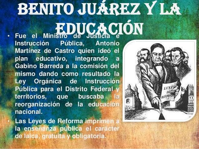 Modernización educativa antes del Porfiriato HISTORIA DE LA EDUCACIÓN EN MÉXICO