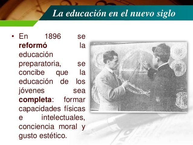 Gestión de Justo Sierra Méndez • Durante su gestión se creó el Consejo Superior de Educación (1901), sustituía a la anteri...