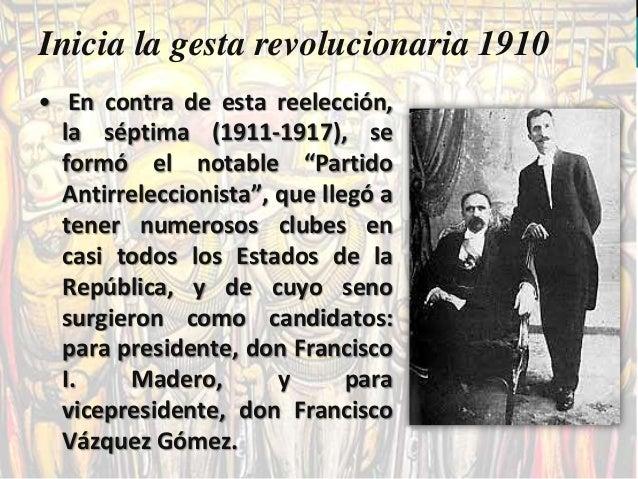  Maderismo.  Huertismo.  Convención de Aguascalientes  Constitucionalismo.