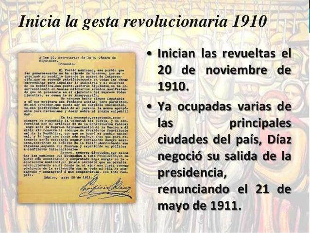 La presidencia provisional      Al efectuarse las elecciones, Madero triunfa con el 99% de los votos, José Ma. Pino Suár...