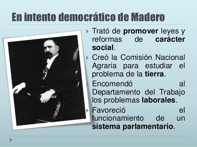 La dictadura Huertista       Teniendo el poder en sus manos, Huerta no dudó en deshacerse de Madero y de Pino Suárez, a...