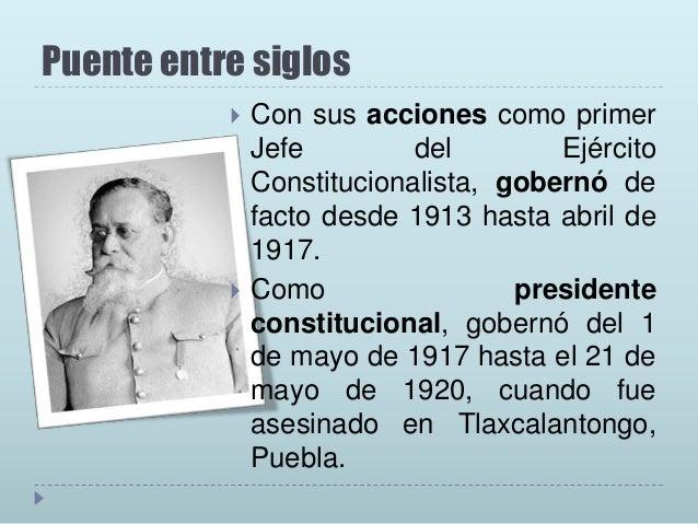 La nueva Reforma • Cuando exclama una revolución social, Carranza se refería que realizaría nuevas leyes.  •Al menos encon...
