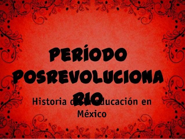 Gobierno de Álvaro Obregón • José Vasconcelos era el rector de la UNAM. • En marzo de 1921 se creó la Dirección General de...