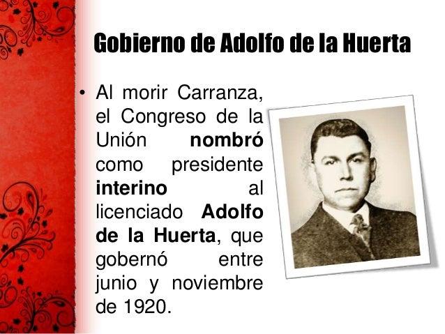 Gobierno de Álvaro Obregón • Se crearon las siguientes instituciones: la Escuela de Ferrocarriles, Escuela de Industrias T...