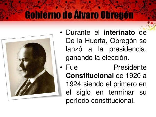 Gobierno de Álvaro Obregón • El 29 de septiembre de 1921, es creada por decreto presidencial la Secretaría de Educación Pú...