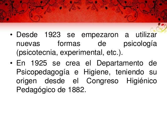 Obra educativa • En 1925, el Departamento de Cultura Indígena cambió su nombre por el de Departamento de Escuelas Rurales,...