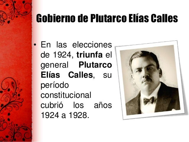 Una fallida reelección  • Álvaro Obregón fue electo presidente constitucional para el período 19281934. • No logró ocupar ...