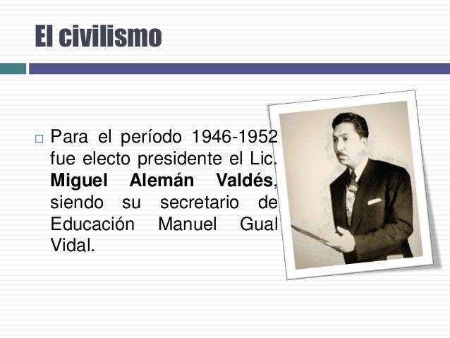 La CU…   En 1949 se inicia la construcción de la Ciudad Universitaria, que alberga a la UNAM.