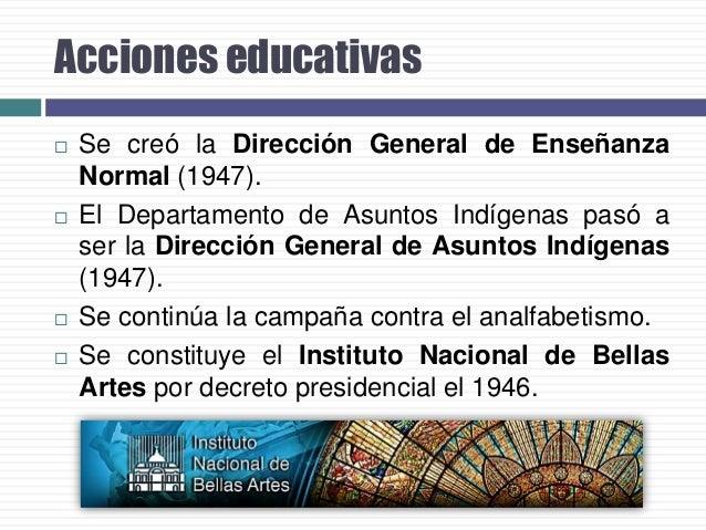 El plan de los 11 años   En el periodo presidencial de Adolfo López Mateos (19581964), fue llamado nuevamente el diplomát...