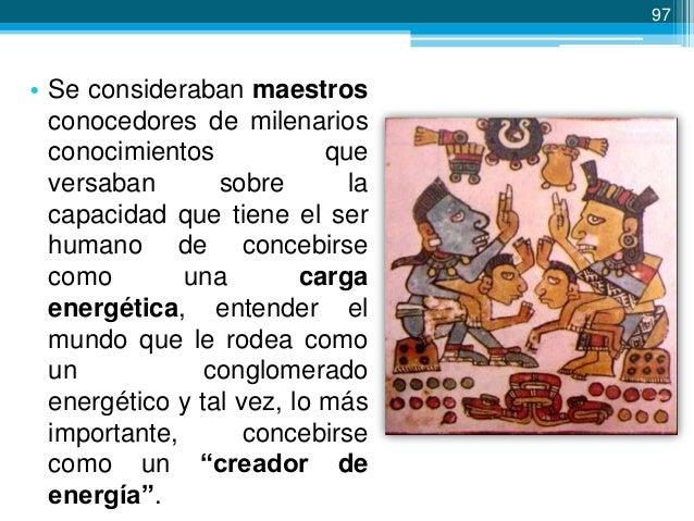 98  La educación tolteca • Los maestros toltecas (hombres y mujeres), vivían totalmente separados de los habitantes del An...