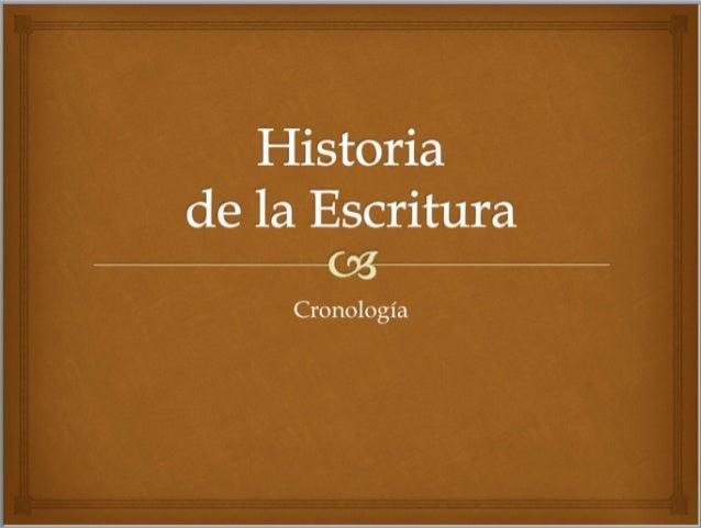 """–""""La escritura era un arte difícil yespecializado, igual que lalectura. Desde los etruscos,griegos y romanos fueevolucion..."""