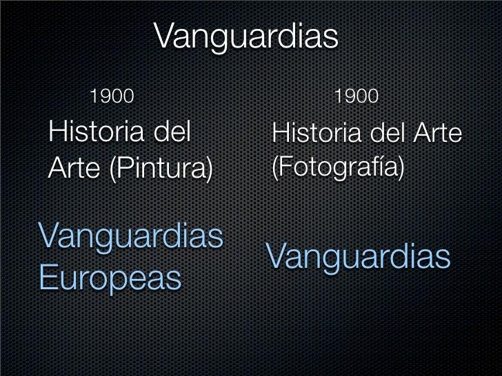 Vanguardias    1900               1900 Historia del     Historia del Arte Arte (Pintura)   (Fotografía)  Vanguardias      ...