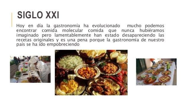 Historia de la gastronom a mexicana for Caracteristicas de la cocina molecular