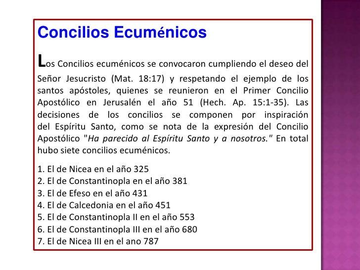 historia de los concilios ecuménicos pdf