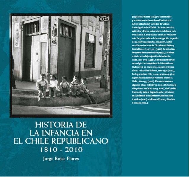 Historia de la infancia en el chile republicano, 1810-2010