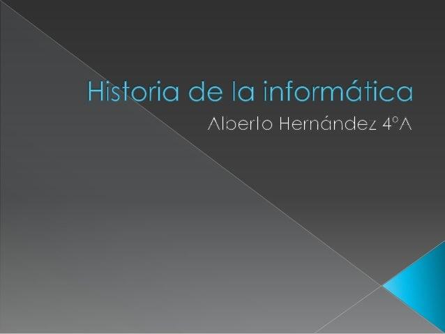  1ª generación de la informática  2ª generación de la informática  3ª generación de la informática  4ª generación de l...