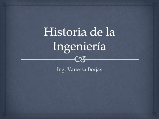 Ing. Vanessa Borjas