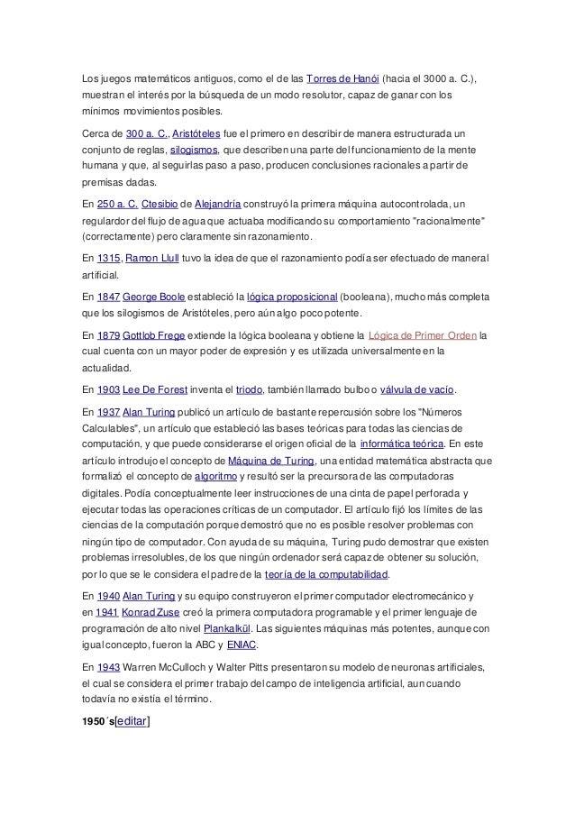 Los juegos matemáticos antiguos, como el de las Torres de Hanói (hacia el 3000 a. C.), muestran el interés por la búsqueda...