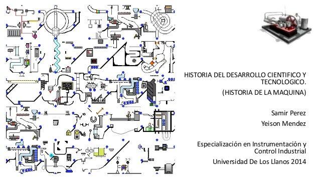 HISTORIA DEL DESARROLLO CIENTIFICO Y  TECNOLOGICO.  (HISTORIA DE LA MAQUINA)  Samir Perez  Yeison Mendez  Especialización ...