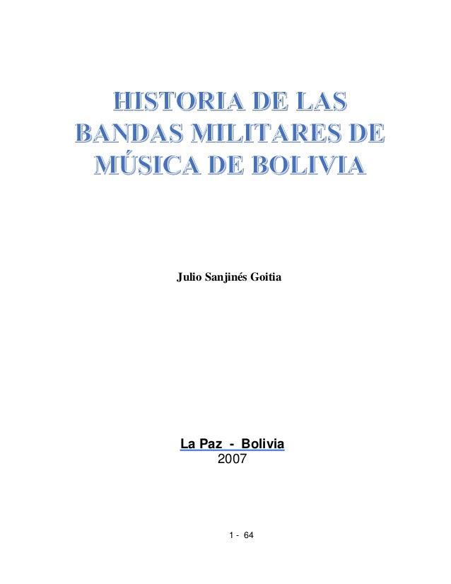 1 - 64Julio Sanjinés GoitiaLa Paz - Bolivia2007