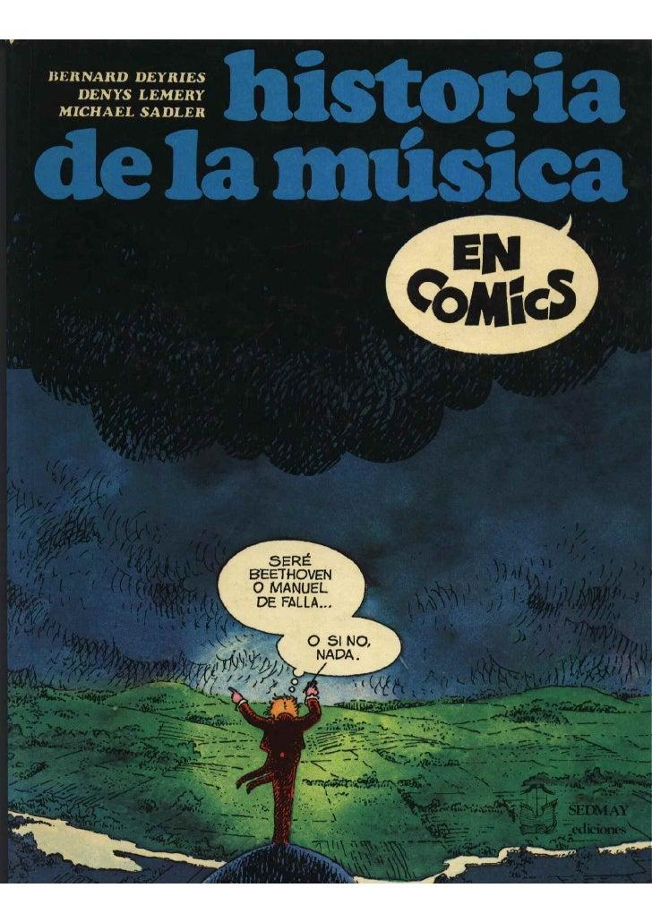 Historia de la musica en comic
