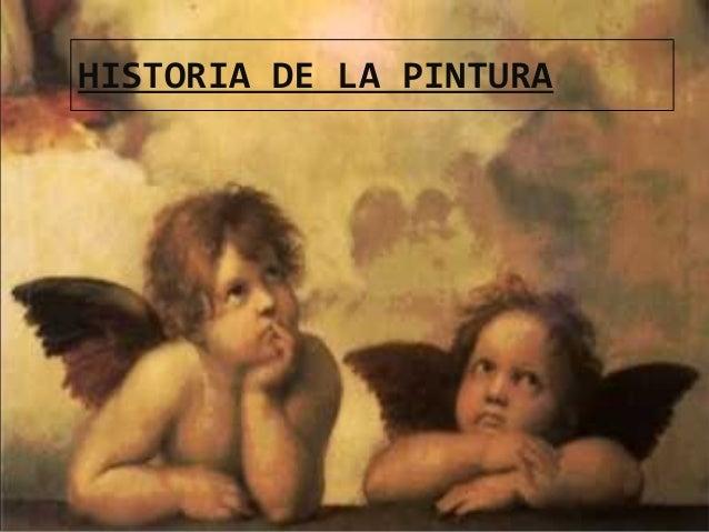 29/01/15 HISTORIA DE LA PINTURA