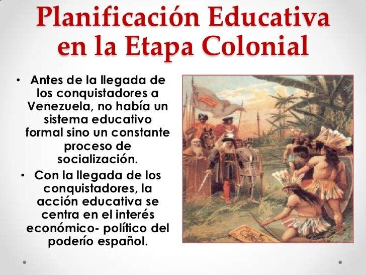 Historia de la planificaci n en venezuela for Accion educativa espanola en el exterior